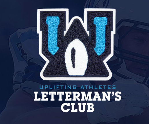 Uplifting Athletes Letterman's Club Logo